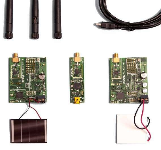Das Kit mit dem Namen »The Drop« ist mit Komponenten von Atmel und Linear Technology ausgestattet und besteht aus zwei Energy Harvesting Einheiten: einem Solar Board (SBN) und einem Peltier Board (PBN).