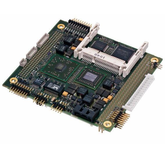 Das PC/104-Board »Cool FrontRunner-AF« von Lippert nutzt AMDs APU-Kombination aus CPU und GPU.
