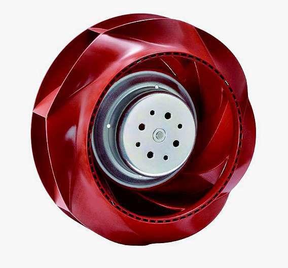 Bild 1: Der »RadiCal«-Lüfter bietet hohe Förderleistung bei geringer Stromaufnahme