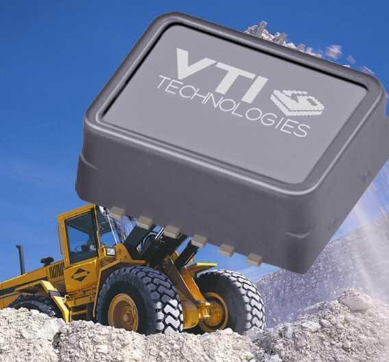 Dreiachsiger Low-Power-Beschleunigungssensor von VTI