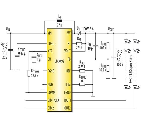 LCD-Hintergrundbeleuchtungen für Automotive-Applikationen ...