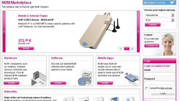 E Commerce Telekom Startet M2m Marktplatz Computer Automationde
