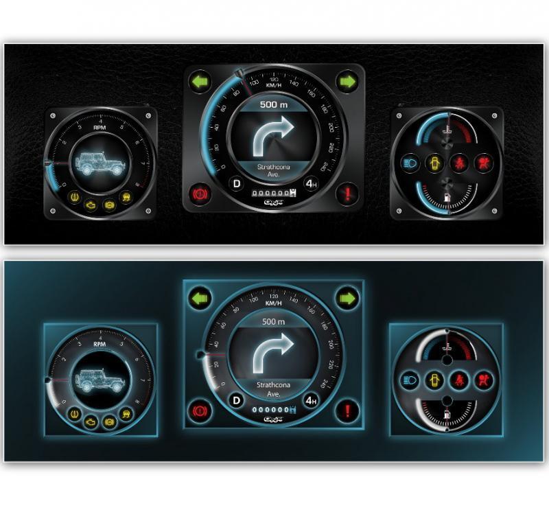 Mit der »Car 2«-Anwendungsplattform ermöglicht QNX die einfache Anpassung der Optik an die Wünsche der Kunden.