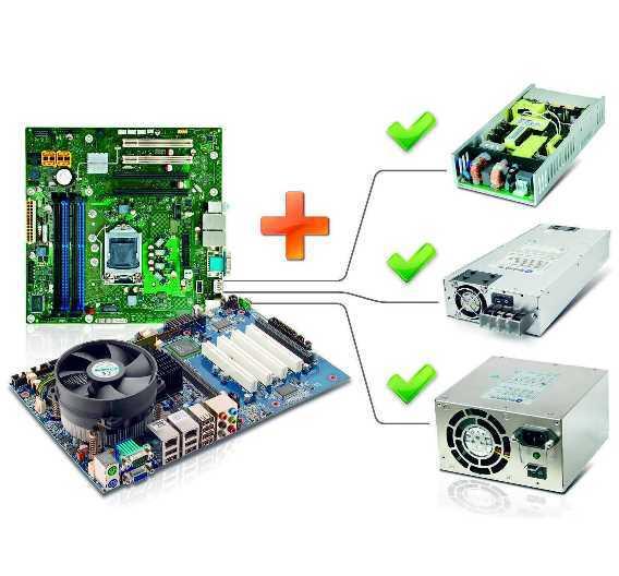 »Power+Board«-Bundles bestehen aus zueinander passenden Netzteilen und Mainboards