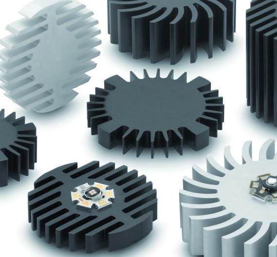 Die neuen Kühlkörper der Serie SK5 von Fischer Elektronik