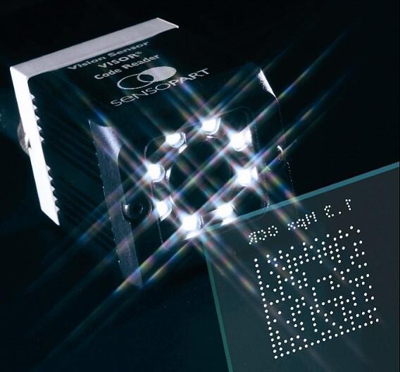 Drei Bildverarbeitungs-Funktionen auf einen Streich bieten die Vision-Sensoren der Serie »Visor V20-CR-P2« von SensoPart.