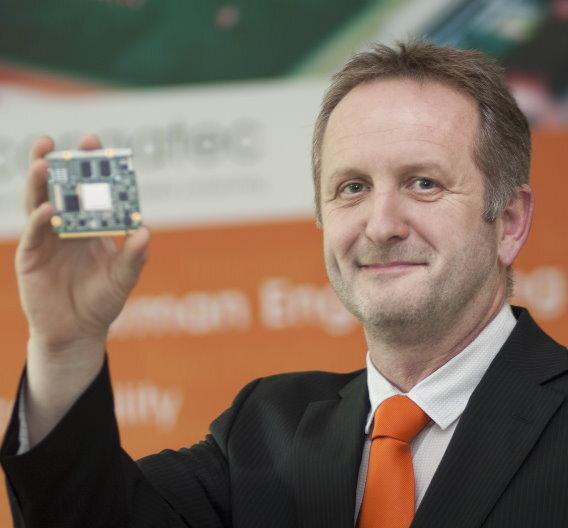 Gerhard Edi, congatec: »Wir sind insgesamt sehr zufrieden mit unserer wirtschaftlichen Entwicklung.«