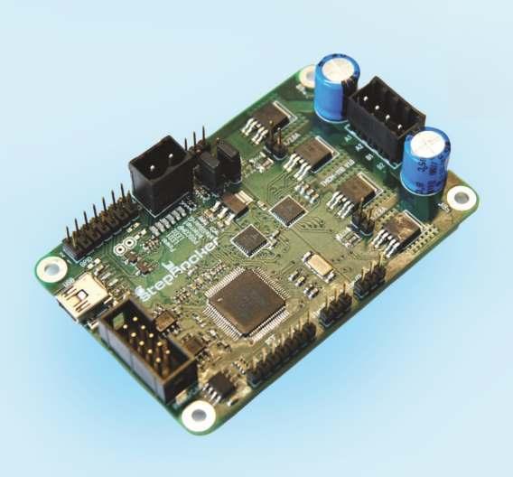 Mit dem TMCM-1110 stepRocker von Trinamic hat Distrelec auch eine komplette, universell einsetzbare Schrittmotorsteuerung im Programm.