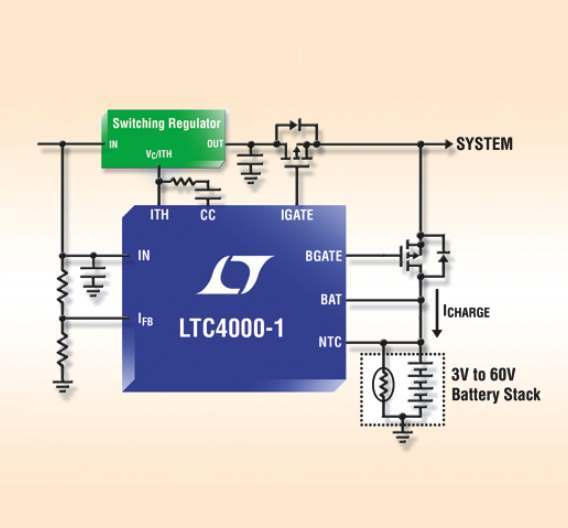 Power-Manager LTC4000-1 von Linear Technology