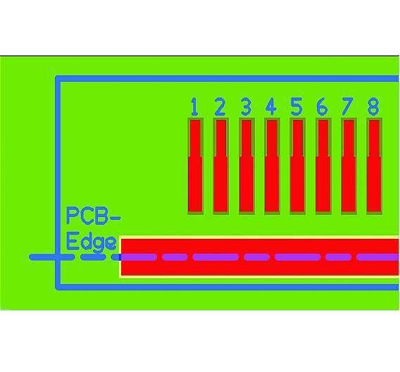 Bild 3: Beim »Solder Mask Defined Pad« wird die aktive Lötfläche durch die Freistellung in der Lötstoppmaske definiert