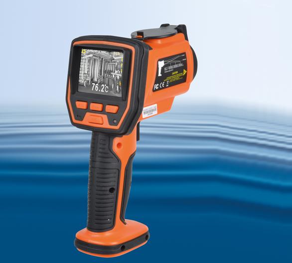 Die Infrarot-Temperatur-Kamera IR Thermo Cam von Reichelt Elektronik erfasst Temperaturen von -50 bis +1.000 °C.