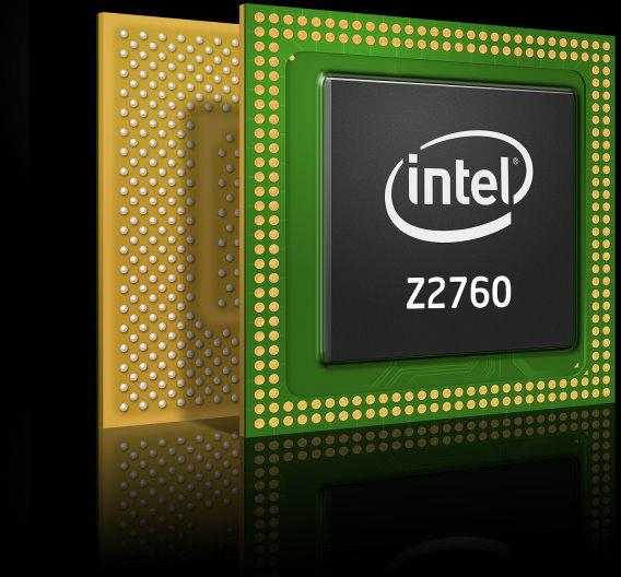 Der Atom2760 wurde speziell für Windows-8-Tablets entwickelt.