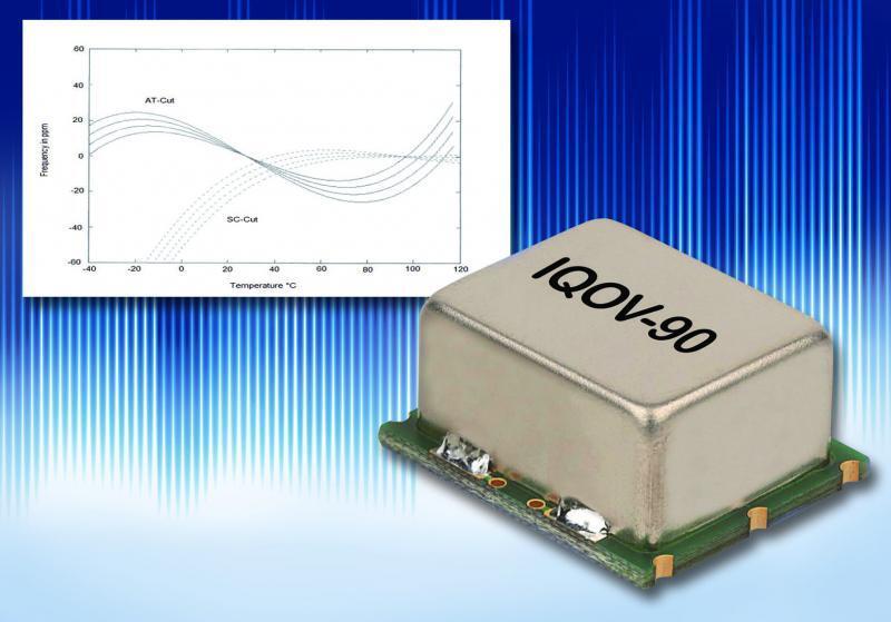 Ofenstabilisierte Quarzoszillatoren der Serie IQOV-90