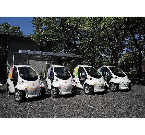Car-Sharing-Angebote mit Elektrofahrzeugen.