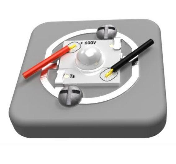 Die lötfreien LED-Buchsen der Typen LH, LK und LS von TE passen zu einer breiten Palette an Luxeon- LED-Arrays von Philips.
