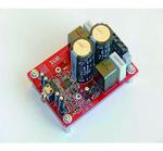 Bild 2: Referenzdesign »IRAUDAMP5« für einen Zweikanal-Class-D-Verstärker mit 100 W, bei dem der »IR4302« mit integrierten Ausgangs-MOSFETs Verwendung findet
