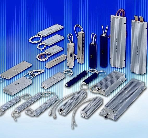 Widerstände im Aluminiumprofil (niedrige und mittlere Leistungsstufe)