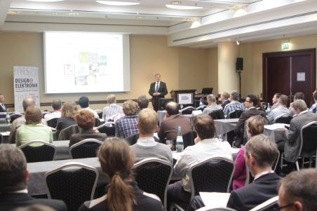 Prof. Dr. Wolf, Heinz Nixdorf Lehrstuhl für medizinische Elektronik, TU München, hält die Keynote