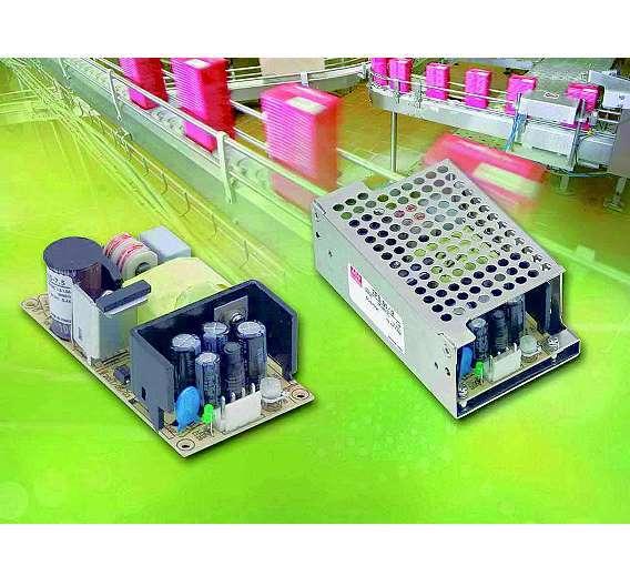 Bild 1: Die Stromversorgungen der Serie »EPS-45/65« von Mean Well haben einen niedrigen Leerlaufstrom