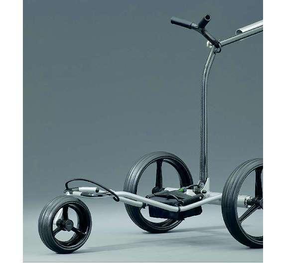 Bild 2: Ein selbstfahrender Elektro-Golf-Caddy wird mit Motoren der neuen Baureihe angetrieben