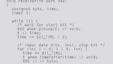 Quellcode für einen UART-RX-Treiber.