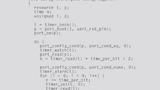 Treiber in C programmiert.