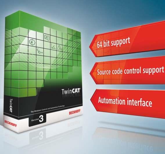 Automatisierungs-Software TwinCAT von Beckhoff