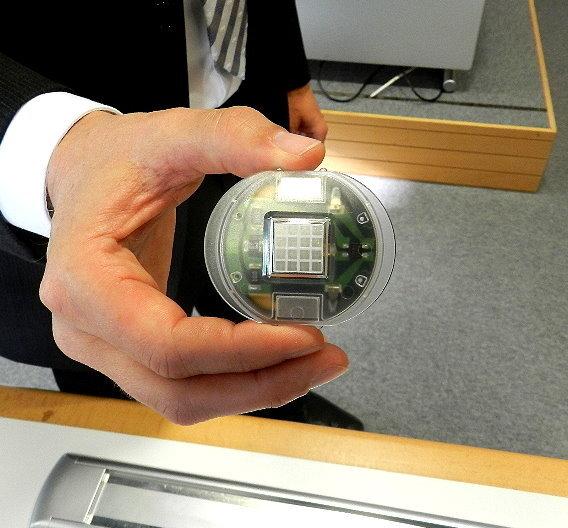 : LPKF stellte auf der electronica das erste LED-Array auf einem LDS-Kunststoffsubstrat vor.