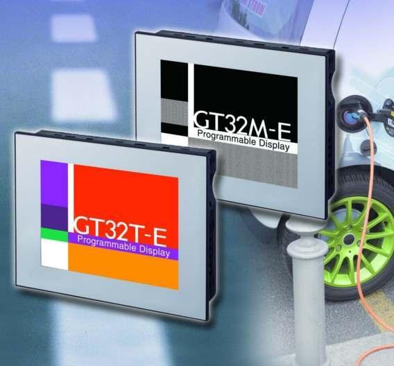 Touchscreen-Terminal GT32 von Panasonic Electric Works