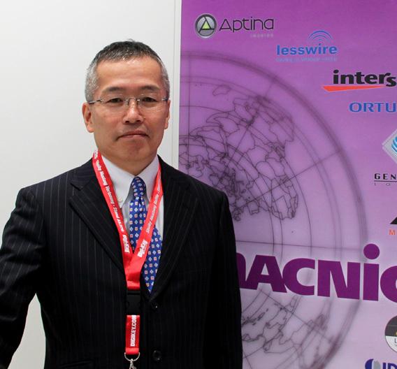 """Shiro Watanabe, Director International Investment and Planning bei Macnica in Japan, erklärte auf der electronica: """"Wir haben uns gerade an Scantec beteiligt und werden zunächst beide Lieferanten-Linien vereinheitlichen und uns bei der Kundenakquise abstimmen."""""""