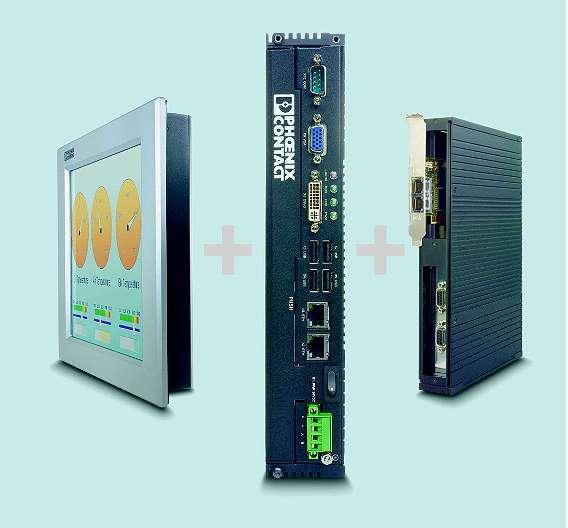 Bild 1: Mit der Produktfamilie »Valueline« stellt Phoenix Contact ein modulares Industrie-PC-System zur Verfügung
