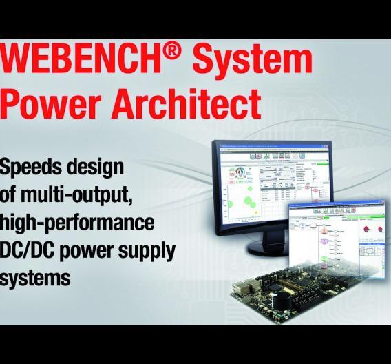 Online verfügbares Webench System Power Architect