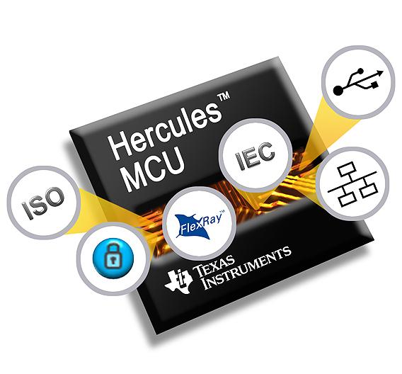 Bei der speziell für High-End-Anwendungen in der Medizintechnik und der industriellen Automatisierung entwickelt Mikrocontroller-Familie RM4x von TI wurden die Sicherheitsfunktionen hardwareseitig implementiert.