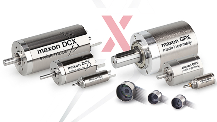 Ein komplett neues Antriebssystem hat Maxon Motor entwickelt: Das DCX-Programm kann online konfiguriert und bestellt werden; geliefert wird es innerhalb von 11 Tagen.