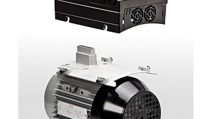 Danfoss bietet ab sofort einen motormontierten Frequenzumrichter VLT FCM 106 an.