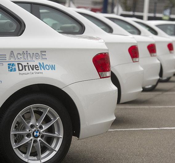 "Forschungsprojekt ""WiMobil"": Car Sharing mit Elektro-Autos."