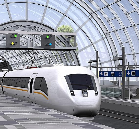 """Der Hochgeschwindigkeitszug vom Typ """"ICx"""" wird das Rückgrat des zukünftigen DB-Fernverkehrs"""