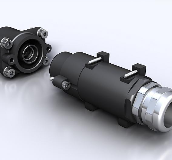 RockStar HighPower 550A - der robuste, einpolige Steckverbinder in Schutzart IP68/IP69K