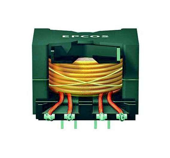 Bild 2: Trotz ihrer Kompaktheit sind die PFC-Drosseln aus der E-Mobility-Plattform von Epcos für Spitzenströme von bis zu 22A ausgelegt