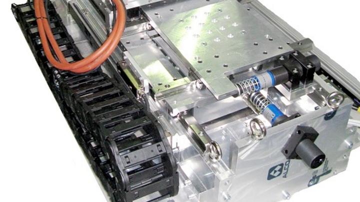 Mehrkoodinatenantrieb als Planarmotor zur Positionierung in zwei Freiheitsgraden