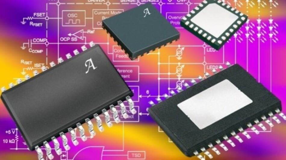 Für den Aufbau von LED-Hinterleuchtungsmodulen für LC-Displays: Der A8512 von Allegro steuert sechs LED-Ketten mit jeweils 18 LEDs präzise an.