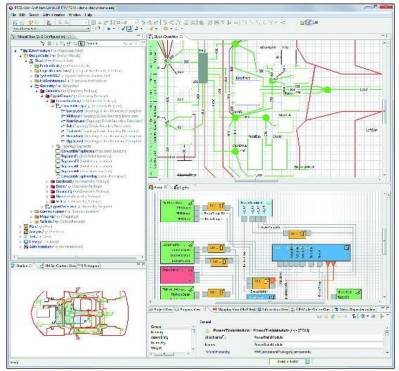 Vector integriert AUTOSAR-Erweiterungen in ihre E/E-Entwicklungsplattform PREEvision.