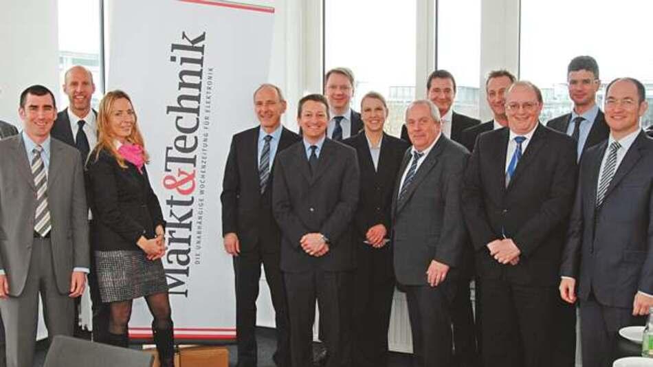 Die Teilnehmer des Markt&Technik Round Table »Katalogdistribution«