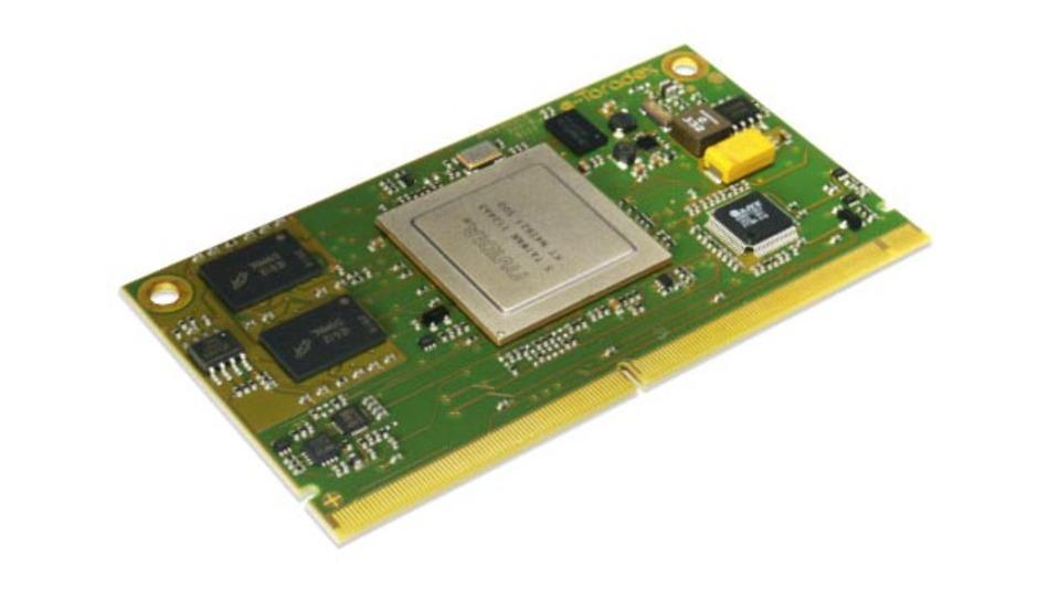 Apalis ist eine neue Modulbauform, entwickelt von Toradex.