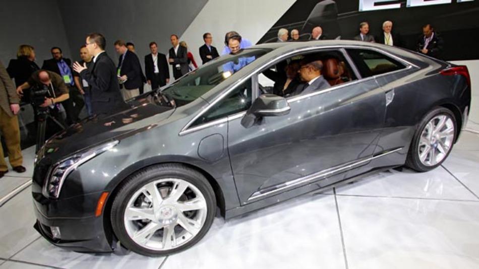 Greift das technische Konzept des Opel Ampera auf: Das EREV Cadillac ELR.