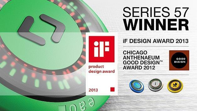 Neue Türöffnertaste gewinnt zwei renommierte Designpreise