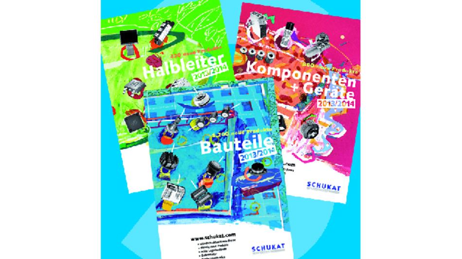 Die neuen Schukat-Kataloge 2013 sind da