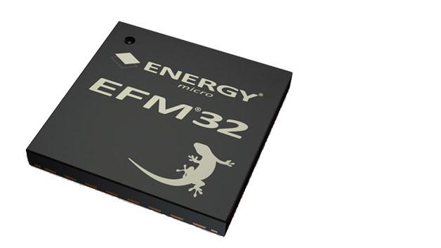 Der Microcontroller mit dem Gecko: der EFM32 von Energy Micro.