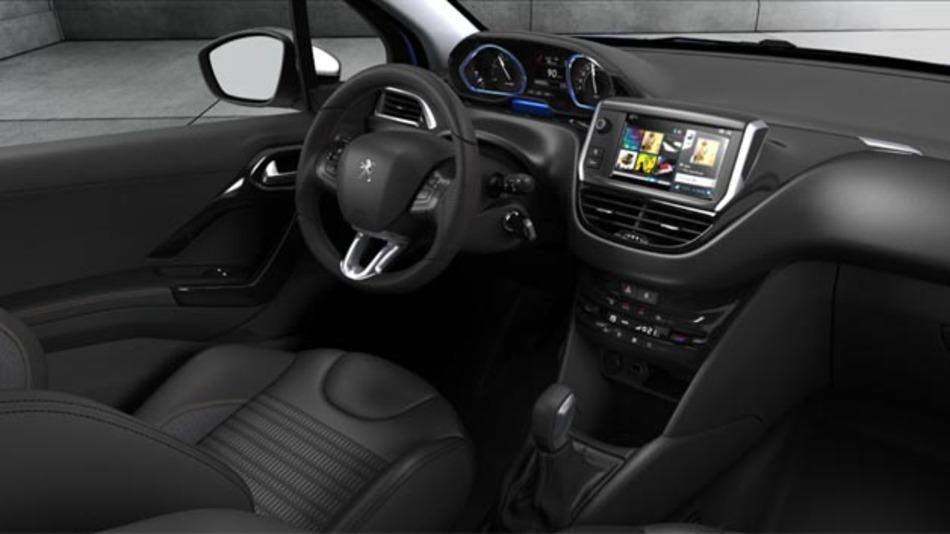 Der Parkassisten im neuen Peugeot 208 Intuitive parkt das Fahrzeug fast selbständig.