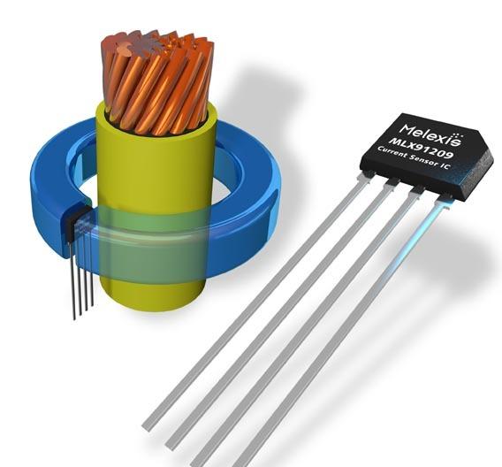 Der MLX91209 - kontaktlose Strommessung für den Bereich Elektromobilität.